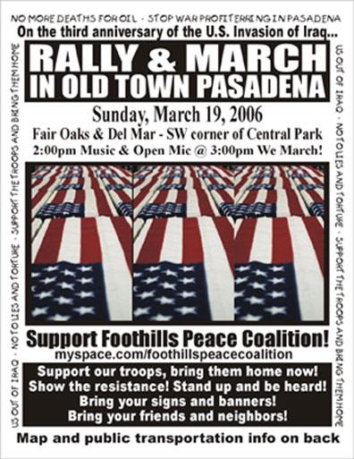 Pasadena Rally on Ma...