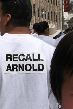 recall arnold...