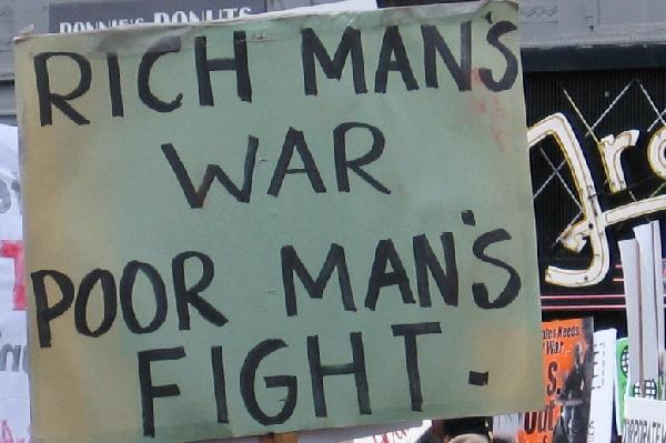 rich mans war...
