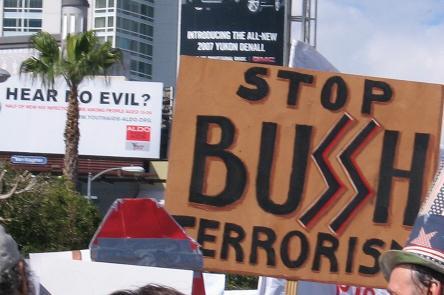 stop bush...