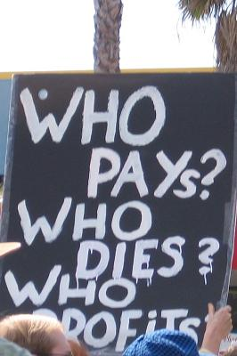 who pays...