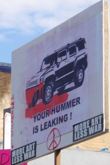 your hummer...