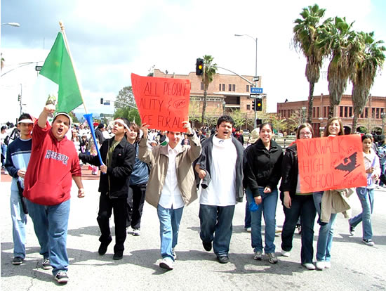 Students March for F...