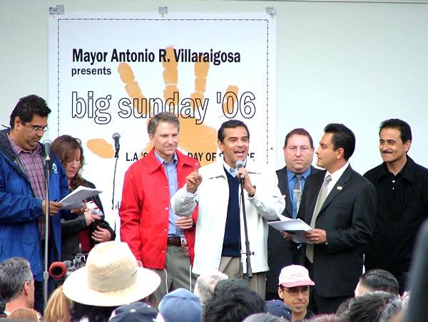 Mayor Villaraigosa...