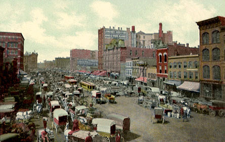Haymarket in the 188...
