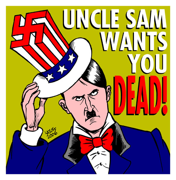 Uncle Sam wants you ...
