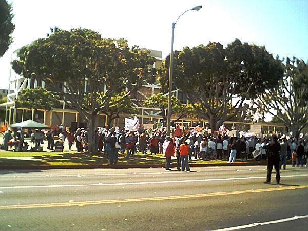 Huge rally...