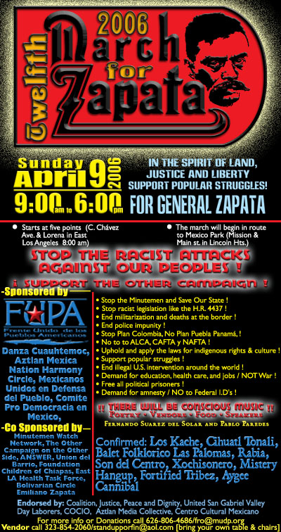 March for Zapata Pos...