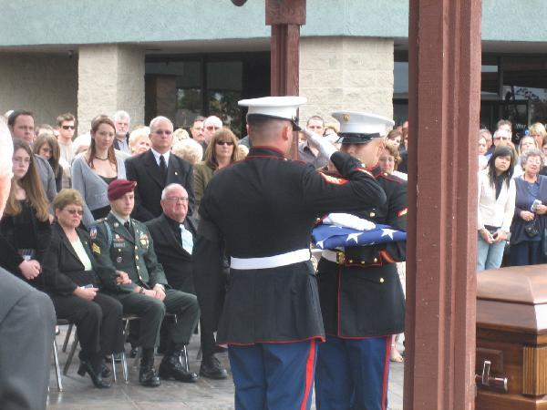 Marines Salute...