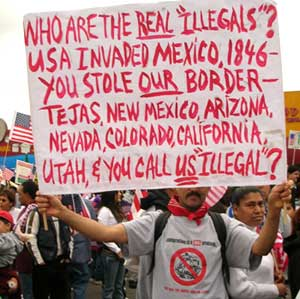 The real illegals...