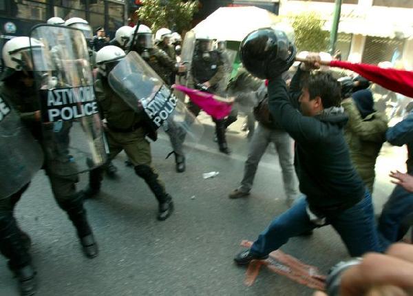 Riots erupt during C...