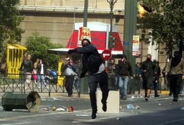 Athens riots...