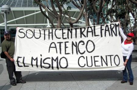 Atenco, U.S. style...