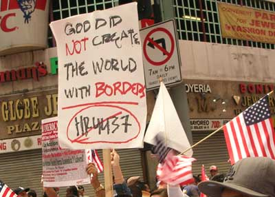 No borders...