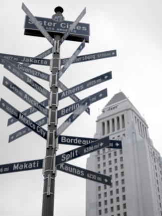 LA's sister cities...