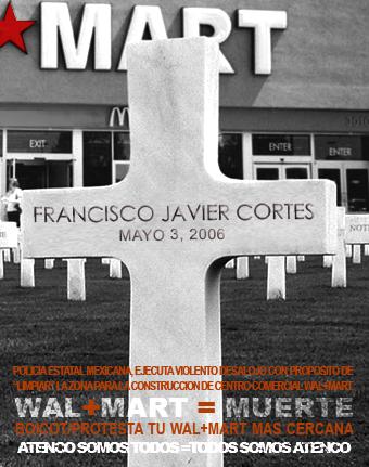 WAL+MART=MUERTE...