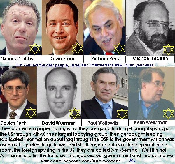 Neocons, Zionists, R...