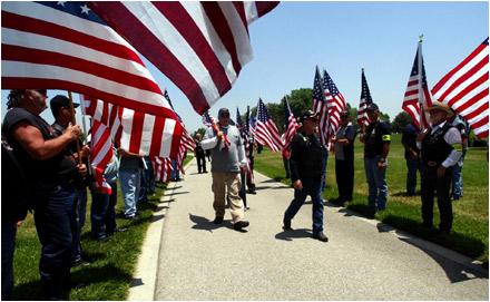 Patriot Guard Riders...