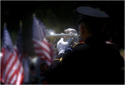 Honor Guard Plays Ta...