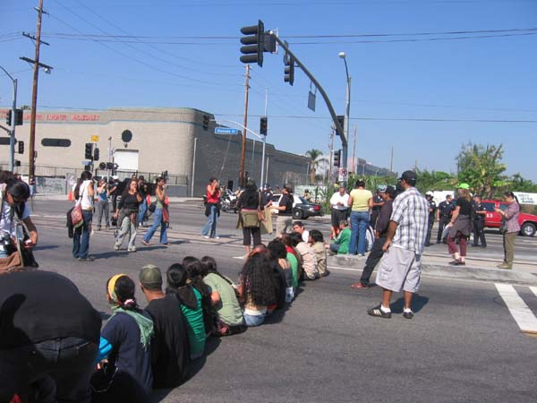 occupying alameda...