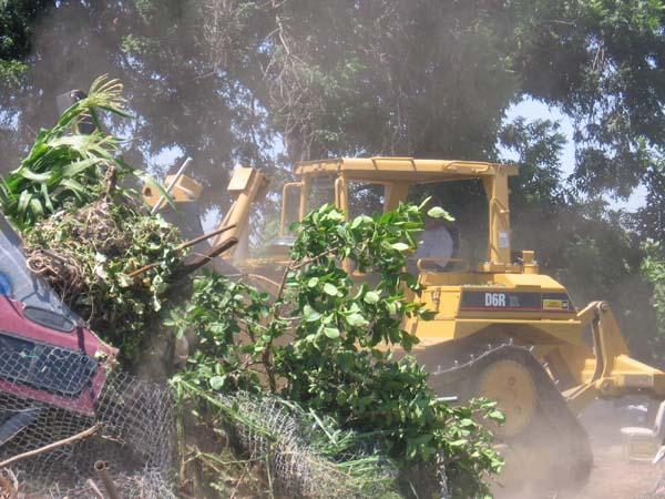 bulldozer...
