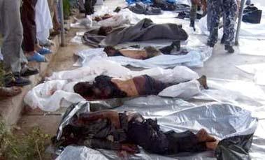 Dead civilians...