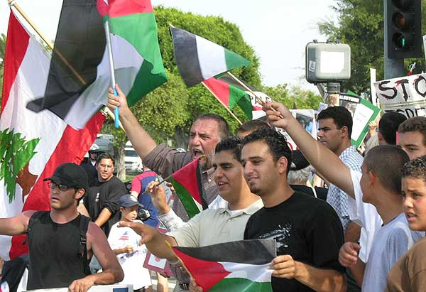 Pro-Lebanese Protest...
