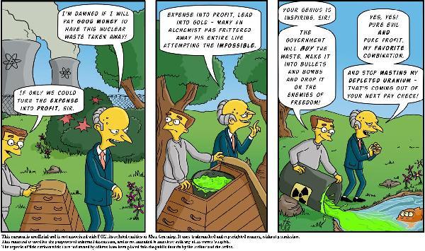 Depleted Uranium...