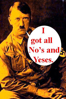 Are you a nazi/ Milg...