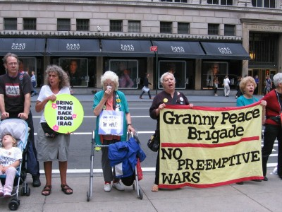 granny brigade...