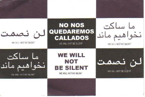 We Will Not Be Silen...