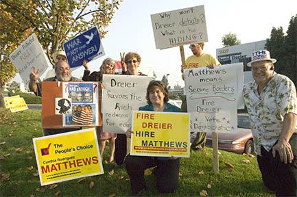 MATTHEWS DEMANDS DRE...