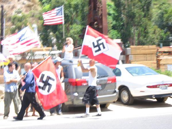 Vote neo-Nazi for a ...