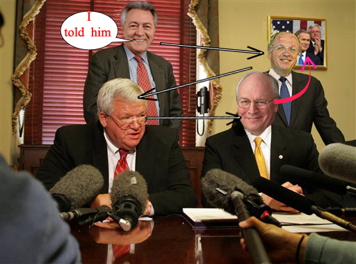 Cheney and Bush off ...