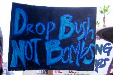 drop bush...