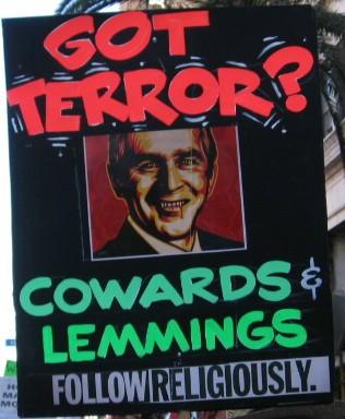 got terror...