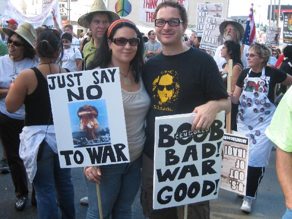 Just Say No To War...