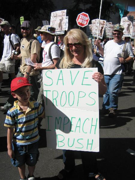Save Troops - Impeac...