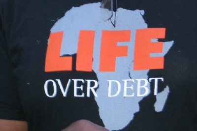 life over debt...