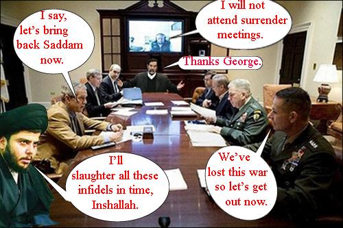 Surrender meeting...