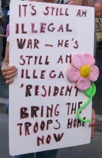 illegal war...