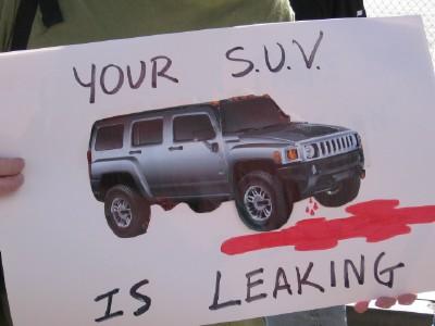 SUV...