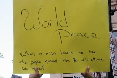 world peace...