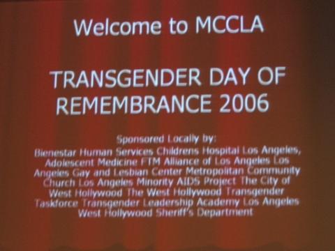 Transgender Day of R...