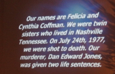 reading of the names...