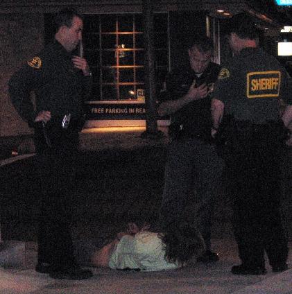 the arrest...
