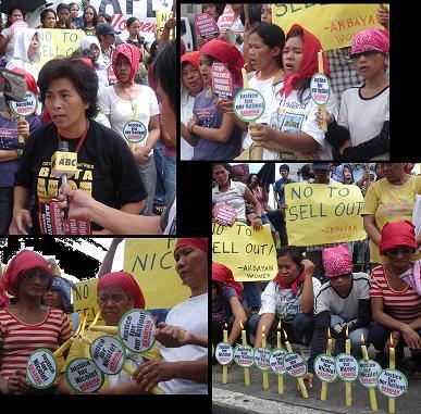 Filipino women deman...
