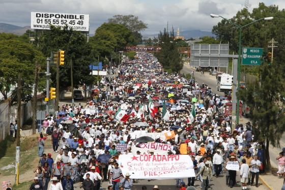 Dispatch from Oaxaca...