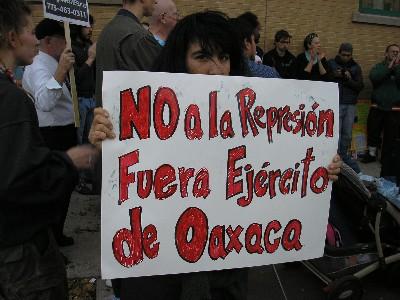 'No to the repressio...
