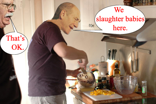 Slaughter babies...